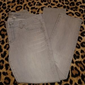 Banana Republic Gray Ankle Skinny Jean